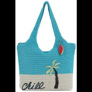 The Sak Chill Large Crocheted Tote